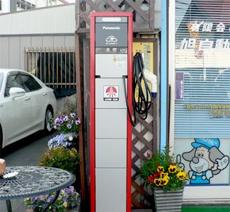 無料電気自動車充電設備